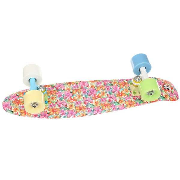 Скейт мини круизер Пластборд Space Multi  6 x 22.5 (57.2 см)<br><br>Цвет: мультиколор<br>Тип: Скейт мини круизер