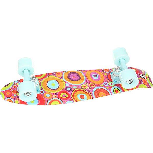 Скейт мини круизер Пластборд Insect Multi 6 x 22.5 (57.2 см)