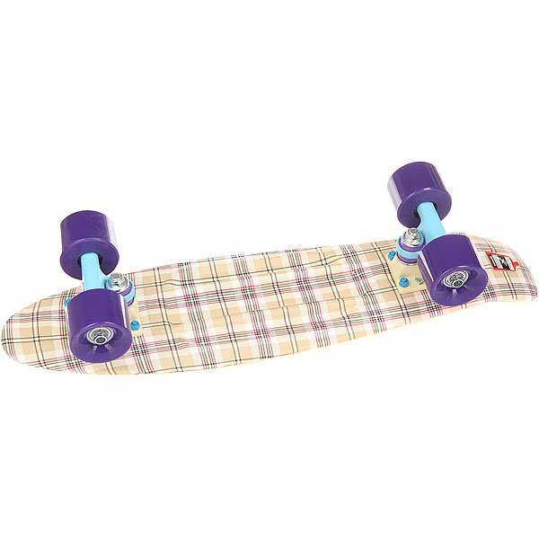 Скейт мини круизер Пластборд Casual Beige 6 x 22.5 (57.2 см)Пластборд  - это пластиковый скейтборд-круизер с загнутым хвостом для передвижения по городу и трюкачества. Очень прочная дека, качественные подвески, подшипники и колеса сделают вашу езду плавной и комфортной.Технические характеристики: Дека из прочного полиуретана повышенной прочности и эластичности.Подвески из алюминия.Бушинги Union 89А.Подшипники - Union Water Prof Abec7 (водонепроницаемая конструкция).Колеса - круизного типа Union Virage диаметром 59 мм со стандартной мягкостью 83А.Нестирающееся цепкое покрытие.Различные расцветки в ассортименте.<br><br>Цвет: бежевый<br>Тип: Скейт мини круизер