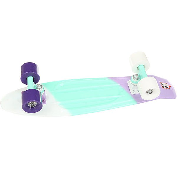 Скейт мини круизер Пластборд Bitter Multi 6 x 22.5 (57.2 см)Пластборд Юнион(с 2017 года бренд официально называется ПЛАСТБОРДЫ) - это пластиковый скейтборд-круизер с загнутым хвостом для передвижения по городу и фанового трюкачества. Очень прочная дека, качественные подвески, подшипники и колеса сделают вашу езду плавной и комфортной. Наличие пластиковой деки делает пластборд очень неприхотливым в использовании и легким в уходе и хранении. Дека не расслоиться, не завинтиться и не треснет. Просто протирайте ее влажной тряпкой по мере необходимости.Размер 22.5 дюйма - это классика современного пластборда. Он максимально компактен, удобен для переноски и очень маневренный. Подойдет как для детей, так и для взрослых. Характеристики:Эластичная прочная дека размером 22,5 дюйма. Новый дизайн внешнего нестирающегося цепкого покрытия. Специально разработанные подвески Вираж изалюминия с оптимальным углом поворота.Водоотталкивающие подшипники ABEC-7. Мягкие упругие колеса круизного типа Вираждиаметром 59мм с мягкостью 83А.<br><br>Цвет: мультиколор<br>Тип: Скейт мини круизер