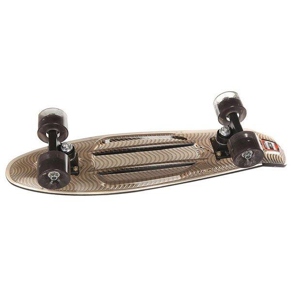 Скейт мини круизер Пластборд Black Grey 6 x 22.5 (57.2 см)Пластборд  - это пластиковый скейтборд-круизер с загнутым хвостом для передвижения по городу и трюкачества. Очень прочная дека, качественные подвески, подшипники и колеса сделают вашу езду плавной и комфортной.Технические характеристики: Дека из прочного полиуретана повышенной прочности и эластичности.Подвески из алюминия.Бушинги Union 89А.Подшипники - Union Water Prof Abec7 (водонепроницаемая конструкция).Светящиеся в темноте колеса круизного типа Union Virage диаметром 59 мм со стандартной мягкостью 83А.Нестирающееся цепкое покрытие.Различные расцветки в ассортименте.<br><br>Цвет: черный<br>Тип: Скейт мини круизер