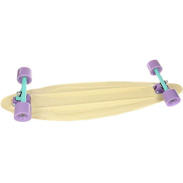 Лонгборд Пластборд Candy Long Beige 9 x 36 (91.4 см)<br><br>Цвет: бежевый<br>Тип: Лонгборд