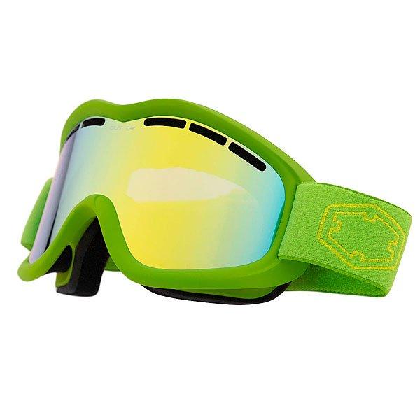 Маска для сноуборда OUT OF Mind Green Gold Mci<br><br>Цвет: зеленый<br>Тип: Маска для сноуборда<br>Возраст: Взрослый<br>Пол: Мужской