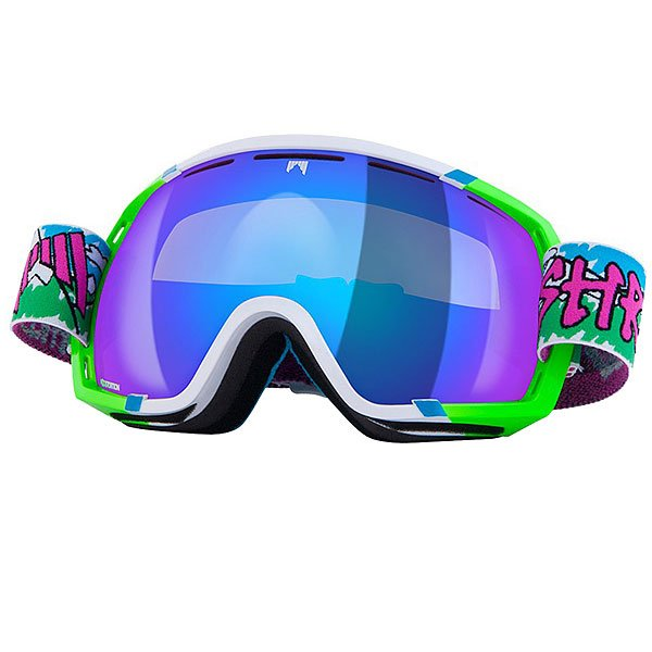 Маска для сноуборда Shred Stupefy Needmoresnow Cbl/Blast Navy Blue/Green