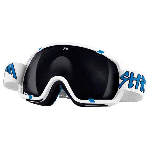 Маска для сноуборда Shred Stupefy Whitey WhiteБольшая маска со сферическими линзами и с технологией NODISTORTION™ CARVED подарит по-настоящему обширный обзор. Кристальная видимость при любых условиях!Технические характеристики: Совместима со шлемами различной конструкции.Эргономичная конструкция оправы, которая облегчает замену линзы (NOBS).Технология NODISTORTION™ для кристально чистого обзора без искажений на любой высоте.Обработка линз изнутри гидрофобным составом AntiFog.Водоотталкивающее покрытие NoClog на вентиляции минимизирует запотевание маски.Специально спроектированная линза для максимального периферийного обзора.Технология CARVED делает линзу более четкой, расширяет угол обзора.Прослойка из пены с супер мягким флисом для комфортной посадки на лице.Покрытие NOREFLECT поможет избежать возникновения отражений с внутренней стороны линзы.100% защита UVA, UVB и UVC.Светопропускная способность 27%.<br><br>Цвет: синий,белый<br>Тип: Маска для сноуборда<br>Возраст: Взрослый<br>Пол: Мужской