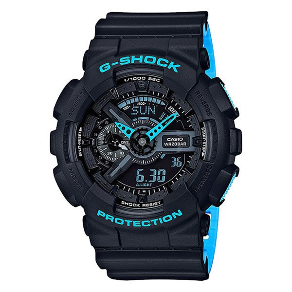 Электронные часы Casio G-Shock ga-110ln-1a Navy casio g shock ga 110ln 1a