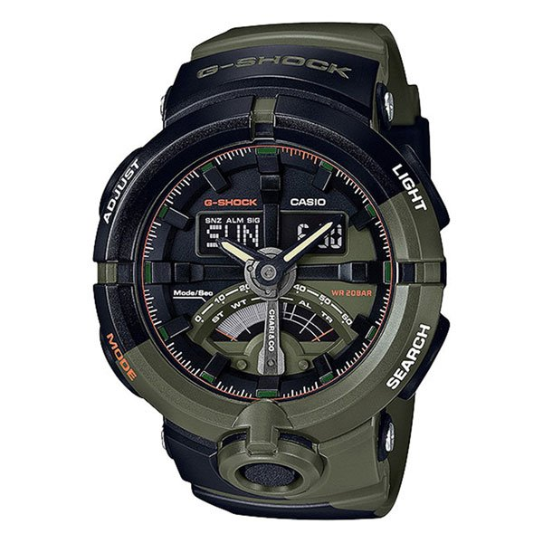 Электронные часы Casio G-Shock ga-500k-3a Black/Green