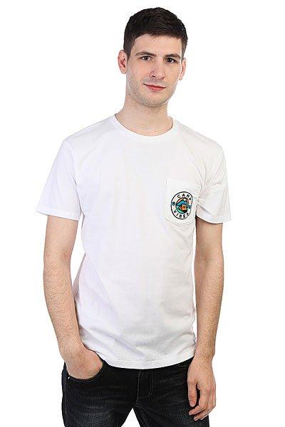 Футболка Poler Camp Tee White<br><br>Цвет: белый<br>Тип: Футболка<br>Возраст: Взрослый<br>Пол: Мужской