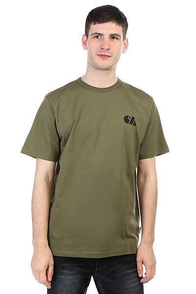 Футболка Carhartt WIP Military Training T-shirt Rover Green / Black<br><br>Цвет: зеленый<br>Тип: Футболка<br>Возраст: Взрослый<br>Пол: Мужской