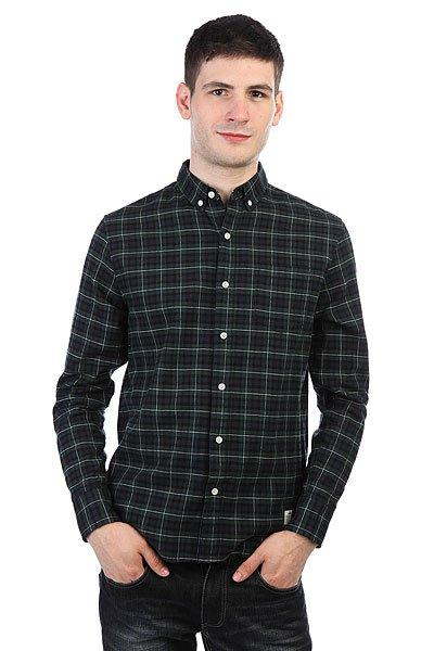 Рубашка в клетку Penfield Hanover Check Shirt Navy<br><br>Цвет: Темно-синий,Темно-зеленый,черный<br>Тип: Рубашка в клетку<br>Возраст: Взрослый<br>Пол: Мужской