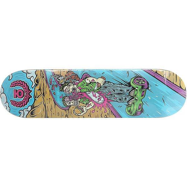 Дека для скейтборда для скейтборда Юнион Gyrd Multi 31.75 x 8.125 (20.6 см)Ширина деки: 8.125 (20.6 см)    Длина деки: 31.75 (80.6 см)    Количество слоев: 7<br><br>Цвет: мультиколор<br>Тип: Дека для скейтборда