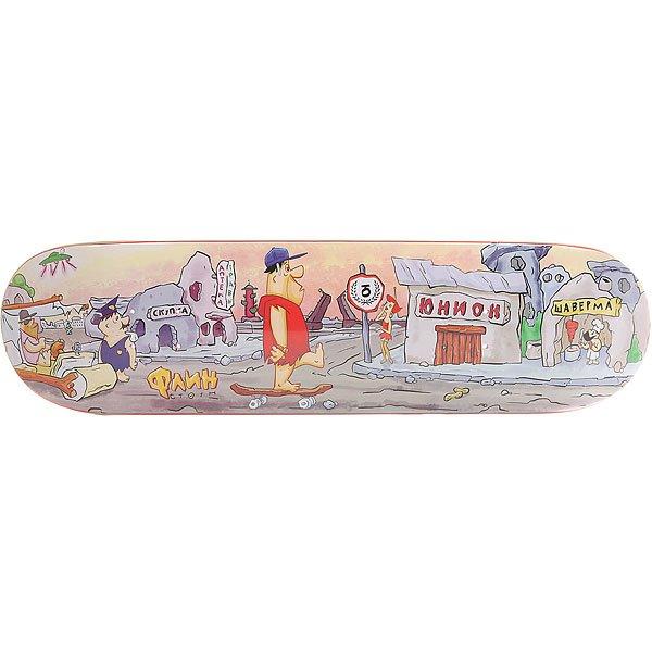 Дека для скейтборда для скейтборда Юнион Флин Multi 31.5 x 8.25 (21 см) дека для скейтборда для скейтборда юнион иванов multi 32 x 8 25 21 см