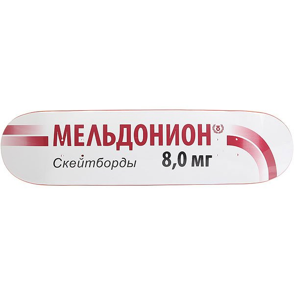 Дека для скейтборда для скейтборда Юнион Meldonion White 31.875 x 8 (20.3 см)