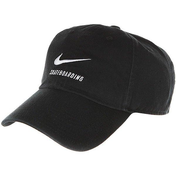Бейсболка классическая Nike SB H86 Black<br><br>Цвет: черный<br>Тип: Бейсболка классическая<br>Возраст: Взрослый