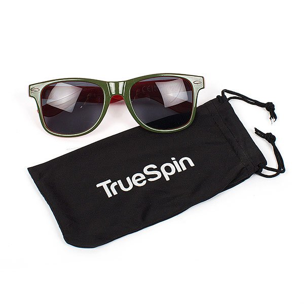 Очки TrueSpin Camofarer Green/Red