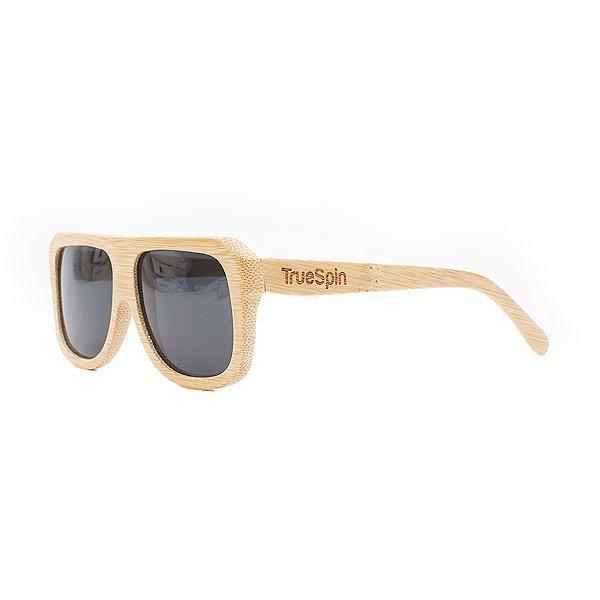 Очки TrueSpin Jigga CremeСолнцезащитные очки TrueSpin. Классическая оправа, выполненная из бамбука, надёжный механизм и линзы с поляризацией, обеспечивающие надёжную защиту от солнца.Очки представлены в однотонной расцветке и дополнены выгравированным логотипом.Характеристики:Оправа из 100% бамбука.Классическая оправа. Надёжный механизм. Линзы UV400 с поляризацией.Однотонная расцветка. Выгравированный логотип. Прочная упаковка в комплекте.<br><br>Цвет: бежевый<br>Тип: Очки<br>Возраст: Взрослый<br>Пол: Мужской
