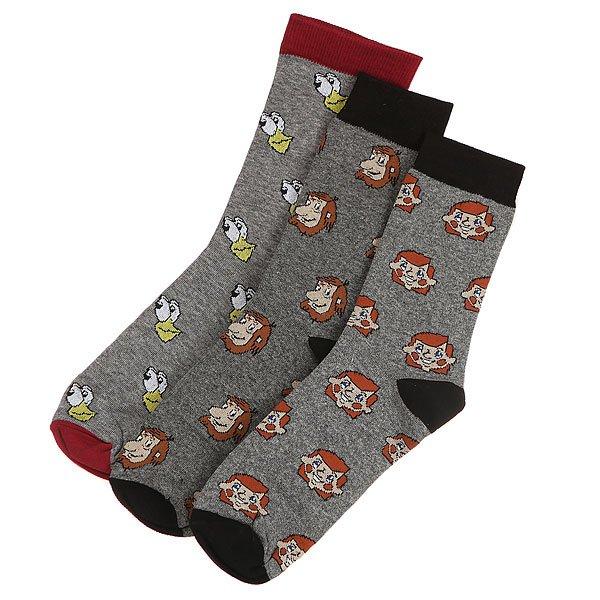Комплект носков Запорожец Простоквашино 6 Серые<br><br>Цвет: серый,мультиколор<br>Тип: Комплект носков<br>Возраст: Взрослый<br>Пол: Мужской