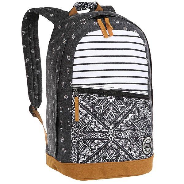 Рюкзак городской женский Element Camden Backpack Multi<br><br>Цвет: черный,белый,бежевый<br>Тип: Рюкзак городской<br>Возраст: Взрослый<br>Пол: Женский