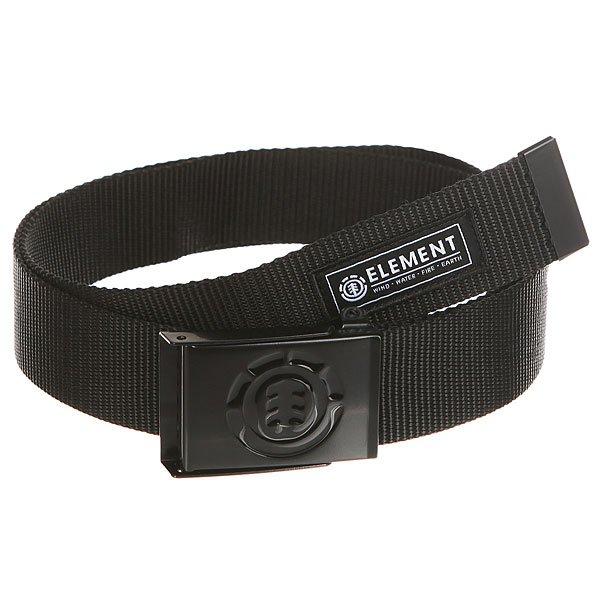 Ремень Element Beyond Belt All Black<br><br>Цвет: черный<br>Тип: Ремень<br>Возраст: Взрослый<br>Пол: Мужской