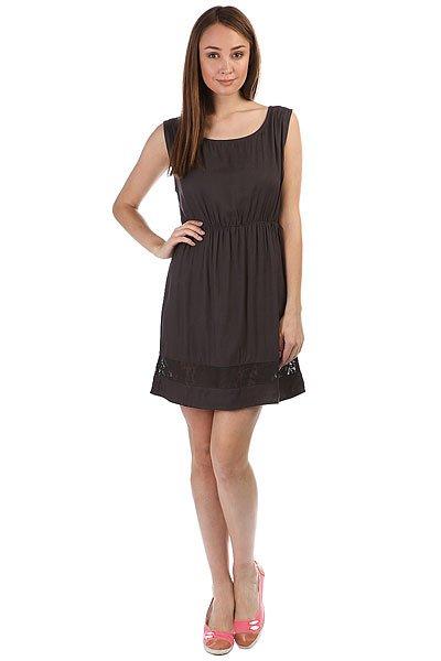 Платье женское Element Angel Off Black<br><br>Цвет: Темно-серый<br>Тип: Платье<br>Возраст: Взрослый<br>Пол: Женский