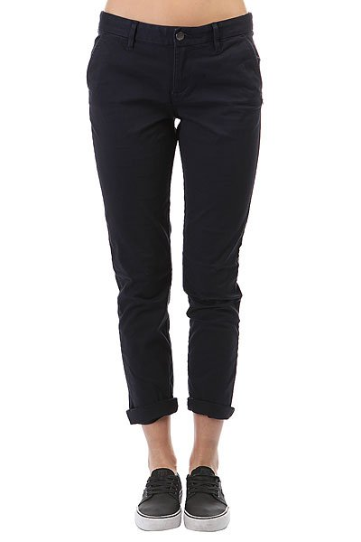 Штаны прямые женские Element Keith Eclipse Navy джинсы прямые element hipta 7 navy