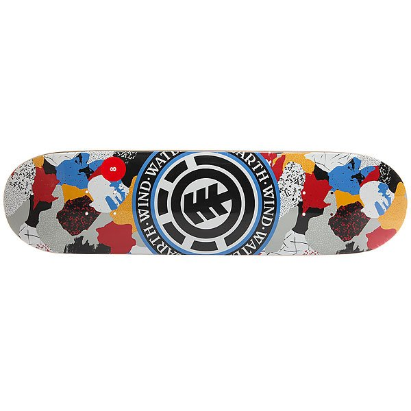 Дека для скейтборда для скейтборда Element Cut Out Seal Multi 31.5 x 8 (20.3 см)Ширина деки: 8 (20.3 см)    Длина деки: 31.5 (80 см)    Количество слоев: 7<br><br>Цвет: мультиколор<br>Тип: Дека для скейтборда<br>Возраст: Взрослый<br>Пол: Мужской