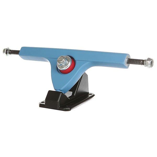 Подвески для скейтборда для лонгборда 2шт. Вираж Blue/Black 7 (24.8 см)Ширина подвесок: 7 (24.8 см)    Высота подвесок: 65 мм    Цена указана за 2 шт<br><br>Цвет: черный,голубой<br>Тип: Подвески для лонгборда