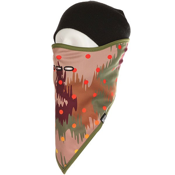 Маска Neff Mountain Facemask Camo<br><br>Цвет: мультиколор<br>Тип: Маска<br>Возраст: Взрослый<br>Пол: Мужской