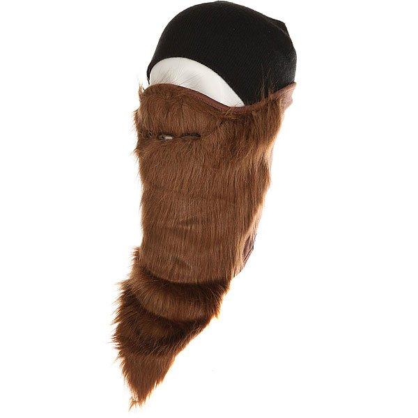 Маска Neff Bearded Facemask Brown<br><br>Цвет: коричневый<br>Тип: Маска<br>Возраст: Взрослый<br>Пол: Мужской