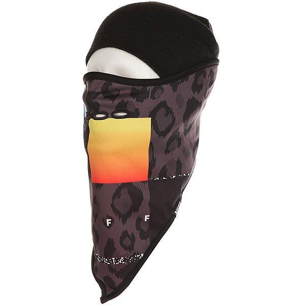 Маска Neff Mountain Facemask Psychosafari<br><br>Цвет: черный,серый,оранжевый<br>Тип: Маска<br>Возраст: Взрослый<br>Пол: Мужской