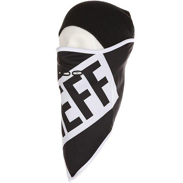 Маска Neff Mountain Facemask Black<br><br>Цвет: черный,белый<br>Тип: Маска<br>Возраст: Взрослый<br>Пол: Мужской