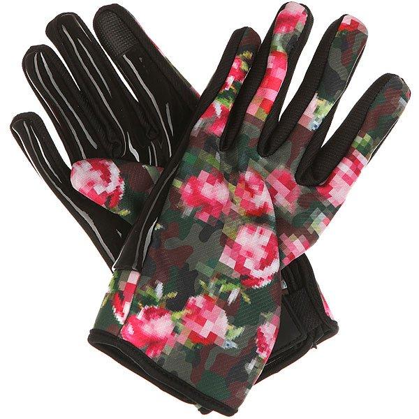 Перчатки сноубордические женские Neff Spring Glove CamoСтильный внешний вид и тепло вашим рукам гарантируют перчатки Neff Spring.Характеристики:Липучка на манжете.  «Липкое» искусственное покрытие ладоней. Эластичная внутренняя конструкция. Логотип на внешней стороне перчатки. Специальная вставка Phone friendly на больших и указательных пальцах, которая позволяет использовать телефон, не снимая перчаток.<br><br>Цвет: мультиколор<br>Тип: Перчатки сноубордические<br>Возраст: Взрослый<br>Пол: Женский