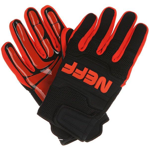 Перчатки сноубордические Neff Rover Glove Black/Orange перчатки сноубордические neff roverul