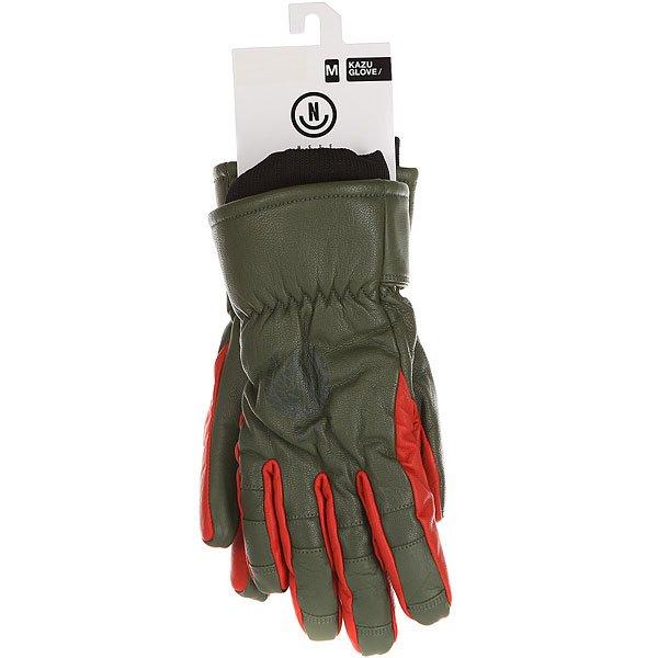 Перчатки сноубордические Neff Kazu Work Glove Olive