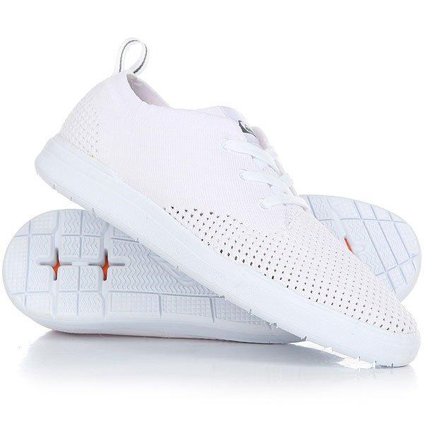Кроссовки Quiksilver Shorbrkstreknit White/White/White<br><br>Цвет: белый<br>Тип: Кроссовки<br>Возраст: Взрослый<br>Пол: Мужской