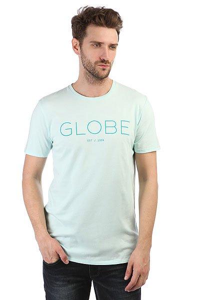 Футболка Globe Phase Tee Mint<br><br>Цвет: голубой,Светло-голубой<br>Тип: Футболка<br>Возраст: Взрослый<br>Пол: Мужской