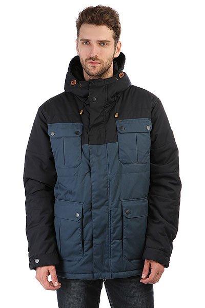 Куртка Globe Infantry Jacket NauticalИдеальная мужская куртка для города. Подойдет для прогулок или работы.Технические характеристики: Подкладка из тафты.Утеплитель.Регулируемый капюшон.Нагрудные карманы и карманы для рук, внутренний карман.Манжеты на кнопках.Подол на утяжке.Застежка на молнии с ветрозащитным клапаном на кнопках.<br><br>Цвет: черный,Темно-синий<br>Тип: Куртка<br>Возраст: Взрослый<br>Пол: Мужской
