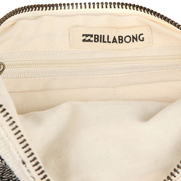 Клатч женский Billabong Salty Water Wallet Black/White