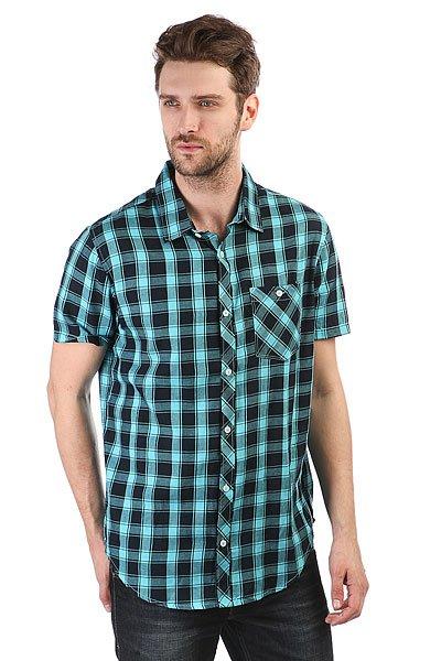 Рубашка в клетку Billabong All Day Check Navy<br><br>Цвет: голубой,черный<br>Тип: Рубашка в клетку<br>Возраст: Взрослый<br>Пол: Мужской