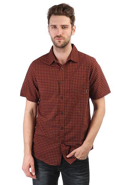 Рубашка в клетку Billabong Lennox Shirt Red<br><br>Цвет: черный,бордовый<br>Тип: Рубашка в клетку<br>Возраст: Взрослый<br>Пол: Мужской