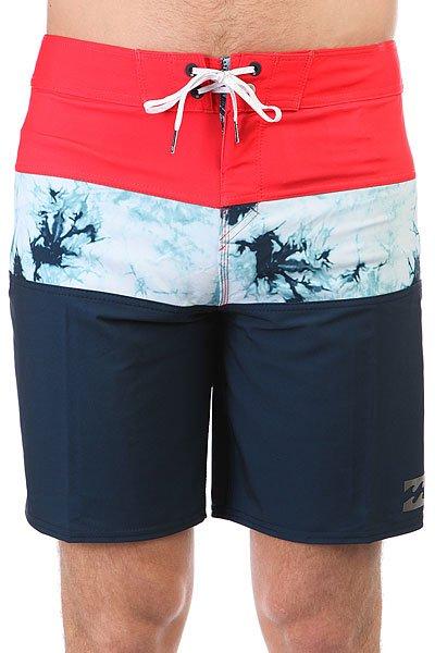 Шорты пляжные Billabong Tribong X 18 Navy<br><br>Цвет: красный,Темно-синий,белый<br>Тип: Шорты пляжные<br>Возраст: Взрослый<br>Пол: Мужской