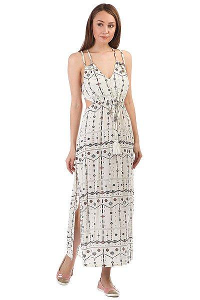 Платье женское Billabong Have Sun Spark<br><br>Цвет: белый,черный<br>Тип: Платье<br>Возраст: Взрослый<br>Пол: Женский