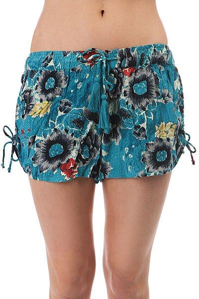 где купить  Шорты классические женские Billabong Native Short Costa Blue  по лучшей цене