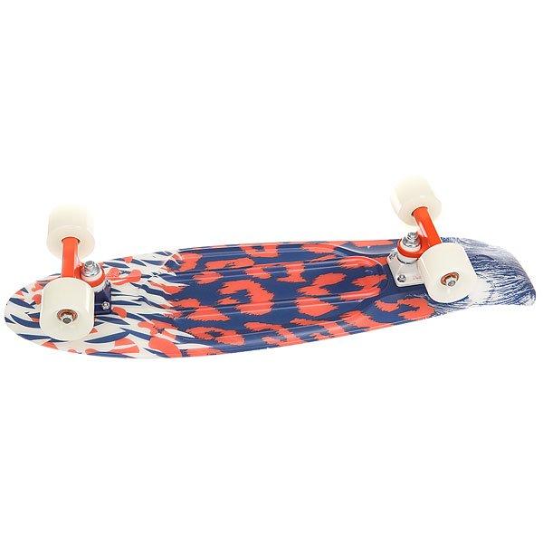 Скейт мини круизер Penny Nickel 27 After Dark 7.5 x 27 (69 см)27-дюймовый светящийся Пенни для тех, кто предпочитает вечерние и ночные катания. Стильный принт на дне белой противоскользящей деки подчеркнет характер этого заряженного драйвом скейта и его обладателя. Модель подходит как для новичков, так и для продвинутых райдеров.Технические характеристики: Длина - 68,6 см, ширина - 19 см.Вес - 3 кг.Подвеска Custom 4? из алюминия.Колеса из полиуретана 59 мм 78А.Подшипники Penny Abec 7.Вес райдера до 130 кг.<br><br>Цвет: мультиколор<br>Тип: Скейт мини круизер<br>Возраст: Взрослый<br>Пол: Мужской