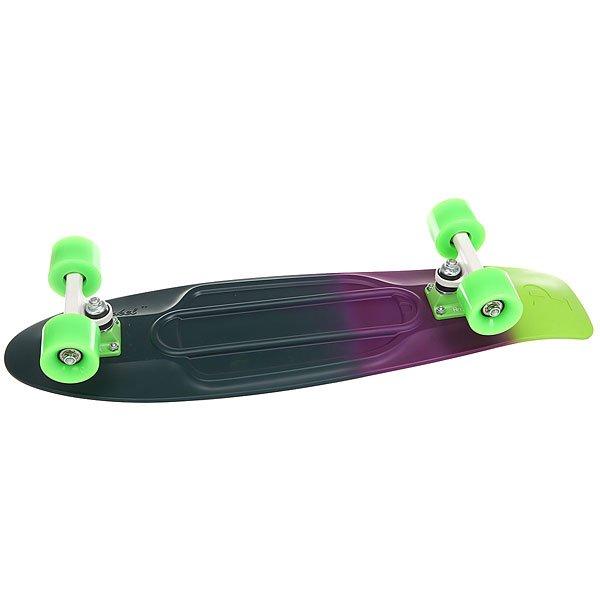 Скейт мини круизер Penny Nickel 27 Neon Shadow 7.5 x 27 (69 см)Стильные и трендовые оттенки Penny Neon Shadow скрасят ваш день и придутся по вкусу райдеру любого пола, возраста и весовой категории. Отличительная особенность этой модели кроется в деке. Катайтесь как можно больше, и вы увидите, как она начинает «расцветать»!Технические характеристики: Длина - 68,6 см, ширина - 19 см.Вес - 3 кг.Подвеска Custom 4? из алюминия.Колеса из полиуретана 59 мм 78А.Подшипники Penny Abec 7.Вес райдера до 130 кг.<br><br>Цвет: мультиколор<br>Тип: Скейт мини круизер<br>Возраст: Взрослый<br>Пол: Мужской