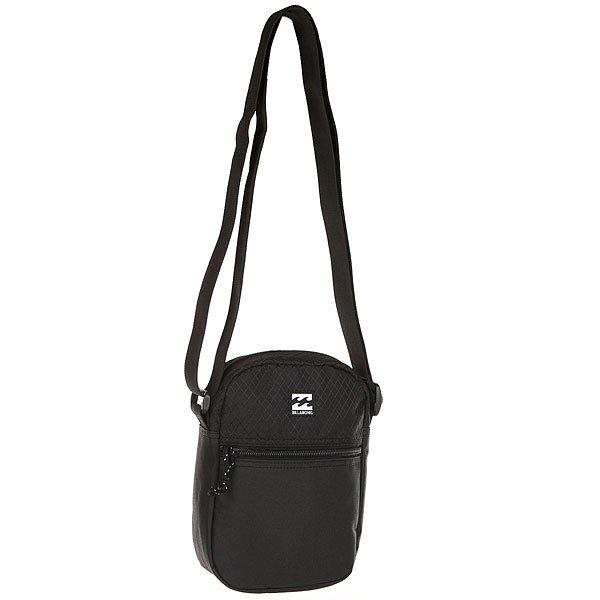 Сумка для документов Billabong Boulevard Satchel StealthИдеальная сумка для телефона, документов и других мелочей, которые пригодятся в поездке или повседневной жизни.Технические характеристики: Объем 1,5л.Основное отделение на молнии с внутренним карманом.Внешний карман на молнии.Регулируемый плечевой ремень.Нашивка с логотипом.<br><br>Цвет: черный<br>Тип: Сумка для документов<br>Возраст: Взрослый<br>Пол: Мужской