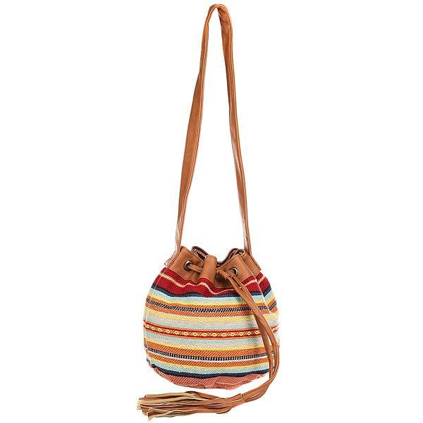 Сумка через плечо женская Billabong Forever Bag Multi<br><br>Цвет: мультиколор<br>Тип: Сумка через плечо<br>Возраст: Взрослый<br>Пол: Женский