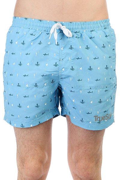 Шорты пляжные TrueSpin Underwater Shorts Blue<br><br>Цвет: голубой<br>Тип: Шорты пляжные<br>Возраст: Взрослый<br>Пол: Мужской