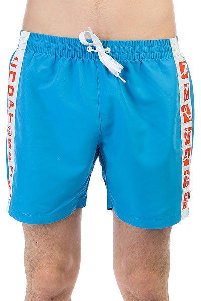 Шорты пляжные Запорожец Sport-short Blue<br><br>Цвет: голубой,белый,красный<br>Тип: Шорты пляжные<br>Возраст: Взрослый<br>Пол: Мужской