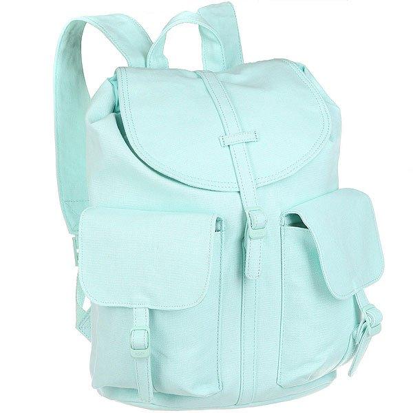 Рюкзак городской женский Herschel Dawson (update) Blue TintЛегкий женский рюкзак Dawson в классическом альпийском стиле с функциональными характеристиками.Технические характеристики:Полосатая подкладка.Внутренний карман на молнии.Основное отделение на шнурке-утяжке.Магнитные застежки.Боковой карман на молнии.Тонкие регулируемые лямки.Классическая нашивка с логотипом.<br><br>Цвет: Светло-голубой<br>Тип: Рюкзак городской<br>Возраст: Взрослый<br>Пол: Женский